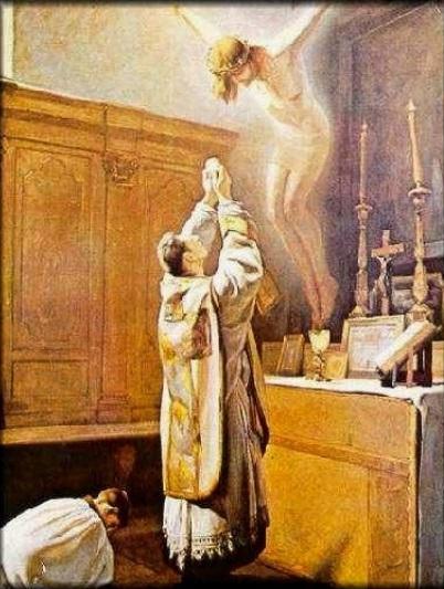 """""""Jesús tomó un pan, pronunció la bendición, lo partió y se lo dio, diciendo: Tomad, esto es mi cuerpo. Cogiendo una copa…: Ésta es mi sangre, sangre de la alianza, derramada por todos"""""""
