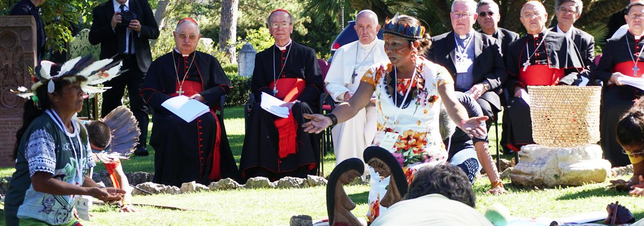 El culto a la pachamama (madre tierra) del Papa Francisco se enmarca dentro del panteismo que él ha promovido