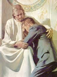 """El sacramento de la Confesión es la clave para entrar en el Reino de los Cielos. Jesús le dice a Pedro: """"A ti te daré la llave del Reino de los Cielos;"""