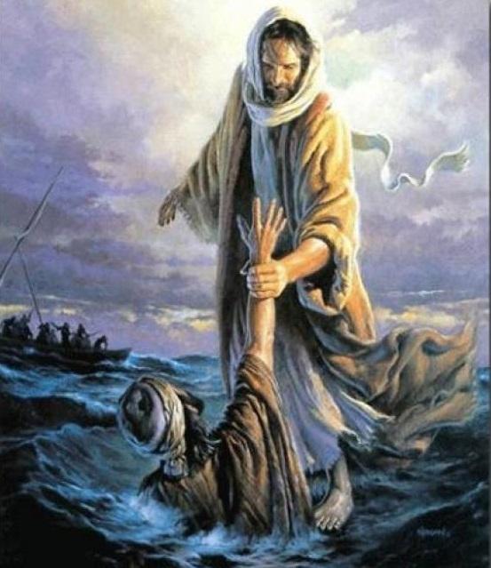 """""""Cuando sobrevengan las situaciones duras y dramáticas, continúa adelante, no desistas, no te desanimes, porque Dios te ama y no te olvida"""""""