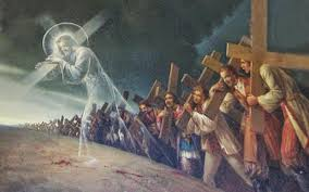 Quien no lleve su cruz detrás de mí no puede ser discípulo mío