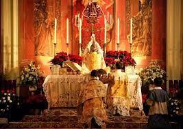 Es la Sangre de Jesucristo la que se necesita para apagar las llamas con las que me consumo; es el Augusto Sacrificio el que me redimirá de estos espantosos tormentos.