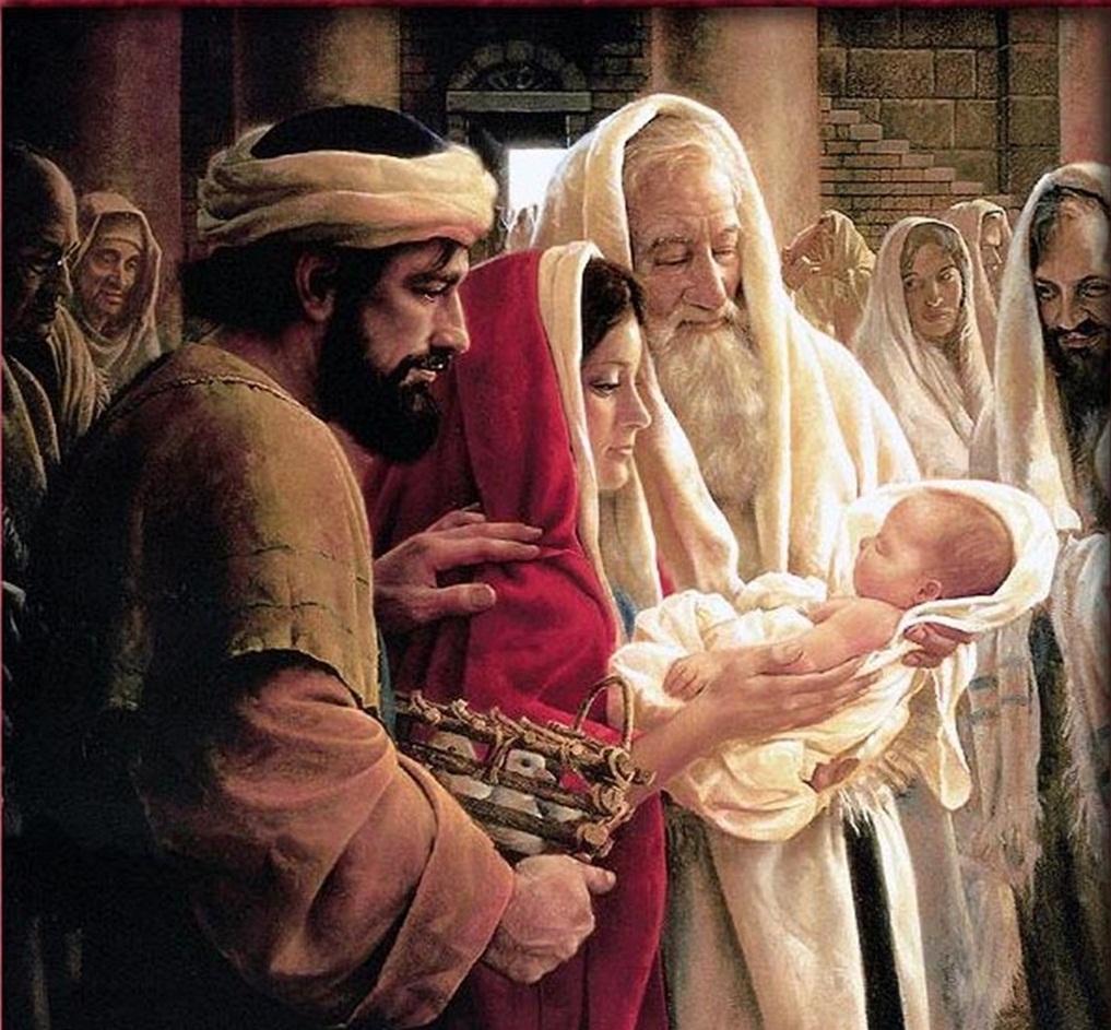 """""""Ahora, Señor, según tu promesa, puedes dejar a tu siervo irse en paz. Porque mis ojos han visto a tu Salvador"""""""