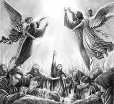 Según Santo Tomás y otros doctores, como hemos visto anteriormente, en casos particulares la justicia divina asigna un lugar especial en la tierra para la purificación de ciertas almas.