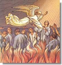 Según las revelaciones de los santos, hay una gran diversidad de penas en el Purgatorio. Tal diversidad está ordenada por la Justicia Divina, y parece responder a la naturaleza de los pecados.