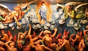 Los santos pueden rezar por las almas y obtener la reducción de sus penas, pero no pueden reparar por ellas, ni saldar sus deudas. Este es un privilegio que Dios ha reservado a su Iglesia militante.