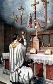 Murió y la noche siguiente se le apareció al santo. Le dijo que estaba detenido en el Purgatorio por unas faltas menores que todavía tenía que expiar, y le rogó que lo encomendara a la comunidad