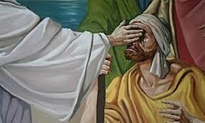 """""""Jesús le dijo: ¿Qué quieres que haga por ti? El ciego le contestó: Maestro, que pueda ver. Jesús le dijo: Anda, tu fe te ha curado"""