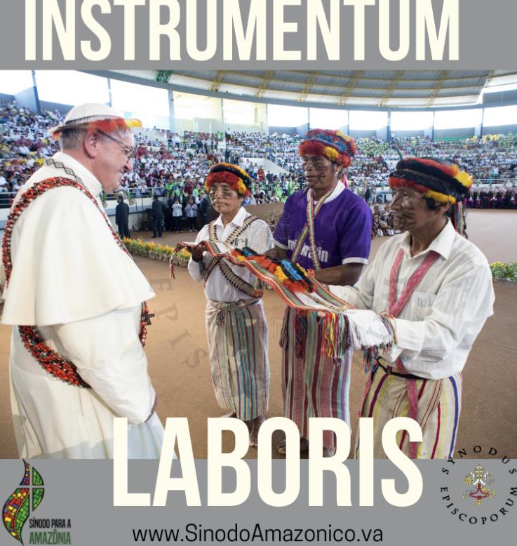 """El Sínodo de la Amazonía se realiza en Roma (6-27 octubre de 2019). El documento preparatorio del mismo, denominado """"Instrumentum Laboris"""", prendió las alarmas entre los defensores de la Fe Católica."""