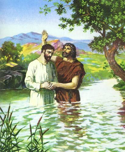 Aquel sobre quien veas bajar el Espíritu y posarse sobre Él, ese es el que ha de bautizar con Espíritu Santo. Y yo lo he visto, y he dado testimonio de que este es el Hijo de Dios.
