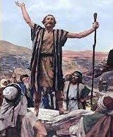 """""""¿Qué va a ser este niño? Porque la mano del Señor estaba con él. El niño iba creciendo, y su carácter se afianzaba; vivió en el desierto hasta que se presentó a Israel"""""""