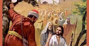 Zaqueo dijo al Señor: Mira, la mitad de mis bienes, se la doy a los pobres; y si de alguno me he aprovechado, le restituiré cuatro veces más. Jesús le contestó: Hoy ha sido la salvación de esta casa.